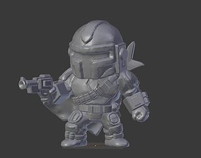Bounty Hunter 3D printable model