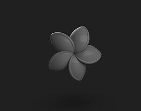 jewelry 3D printable model Flower