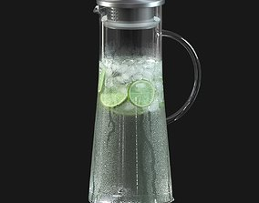 Lemonade pitcher 3D model