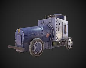 Military assistance car 3D asset