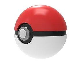 3D model fi Pokeball