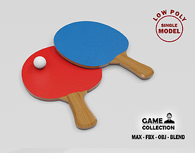 3D model Ping Pong Paddles