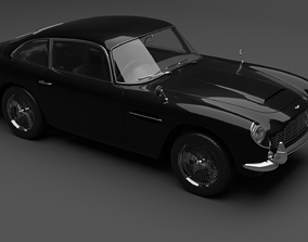 3D model 1964 AstonMartin DB5 Vantage