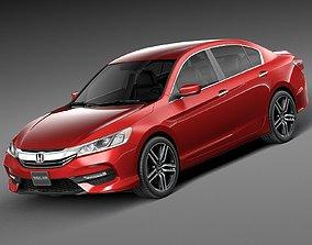 Honda Accord Sport 2016 3D model