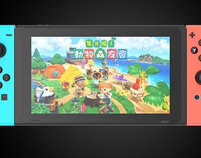 3D Ultra-precision Nintendo Switch C4D modeling rendering