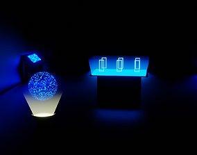 3D model Simple Sci-fi Room
