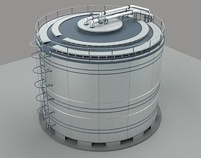 Barrel for water or oil or any liquid 3D model