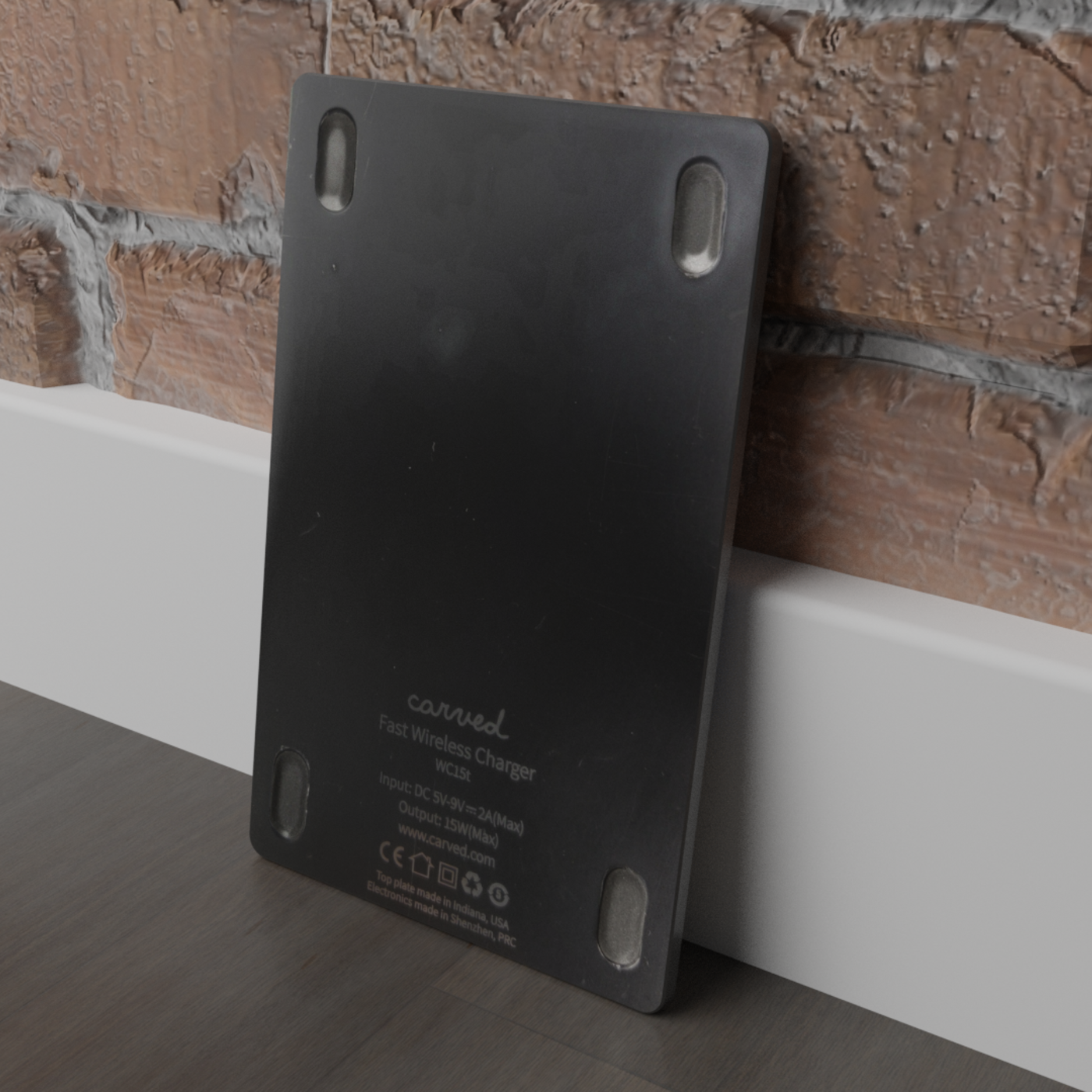 Custom-Designed Carved Wireless Charger Pad
