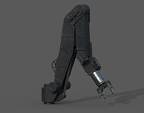3D asset ROV arm - PBR - rigged