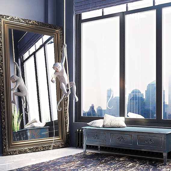 Loft Interior_ 3D Design