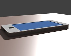 Low Poly iPhone 3D asset
