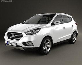 Hyundai Tucson ix35 Fuel Cell 2012 3D