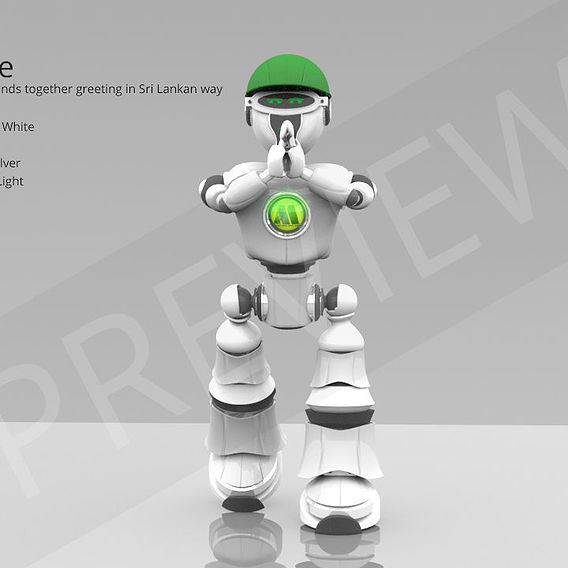 Robot In action - Company Kit