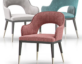 Dining Chair 02 3D model