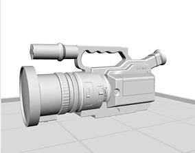 3D print model Sony VX1000 Camera