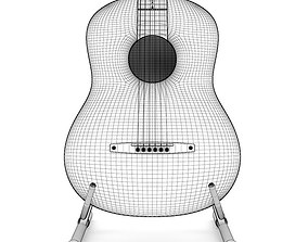 3D model instrument Acoustic Guitar