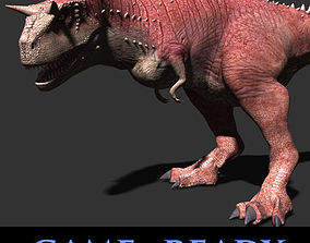 Carnotaur Resurrection - Game ready 3d model animated