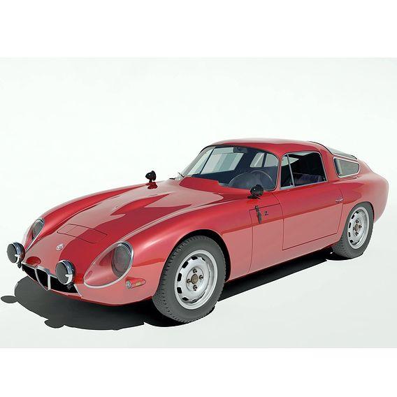 1963 Alfa Romeo TZ1 Tubolare Zagato