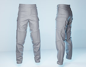 Semi Tactical Pants 3D