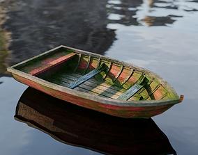 Old Boat 3D asset