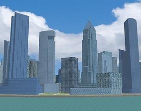 3D model Camellia City