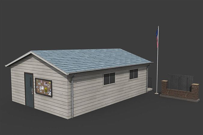 suburban-post-office-3d-model-low-poly-m