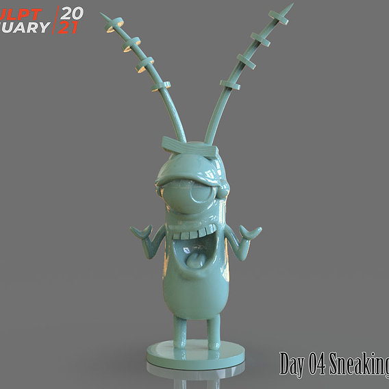 Sculptjanuary Day 04