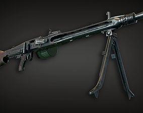 3D model Lowpoly PBR MG42