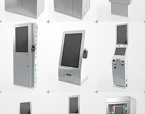 3D model Electonics Terminals Collection Pack