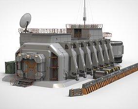 future sci fi hub 3D model