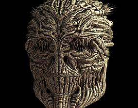 3D Gigers Skull