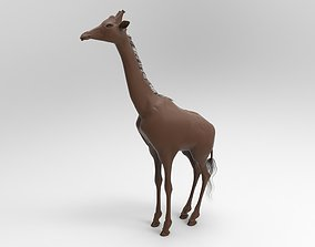 black GIRAFFE 3D printable model
