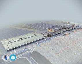 3D model Airport Terminal Schonefeld EDDB