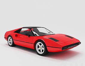 Ferrari 308 GTB 1975 sport 3D model