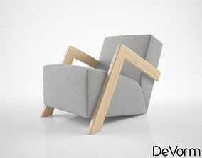 3D DeVorm Daddys Chair Lounge Chair