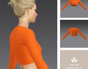 3D model Sweat Orange