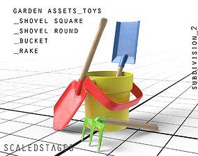 3D model kids outdoor toys