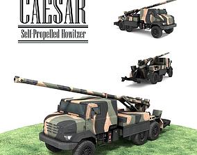 3D model CAESAR Self-Propelled Howitzer