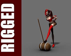 Harley Quinn Rig 3D