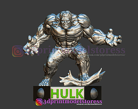 Super Hulk Statue 3D Printable STL File
