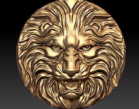 3D print model animal lion head