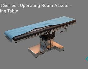 3D model Medical Series - Operating Room - Operating