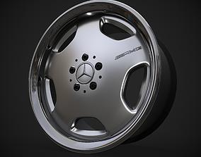 3D asset AMG Monoblock rim