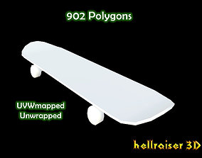 street 3D model Skateboard
