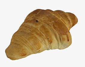 French Croissant 3D model