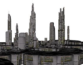 3D print model Orion Colonial City