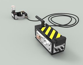 3D Ghost trap from the movie Ghostbusters