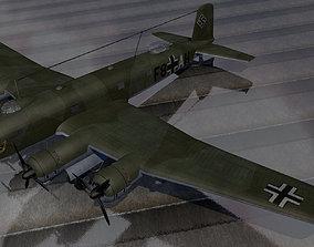 Focke-Wulf Fw-200C-1 Condor 3D plane