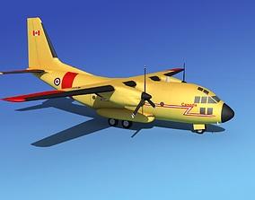 Alenia C-27A Spartan RCAF 3D model