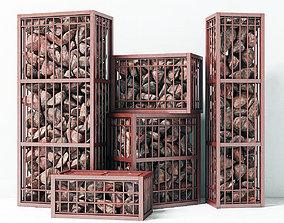 rock Gabion small 3D model